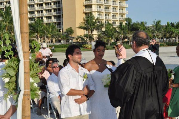 Stacie Lydia and Fernando Diaz Morlet. Marco Island, Florida 2011