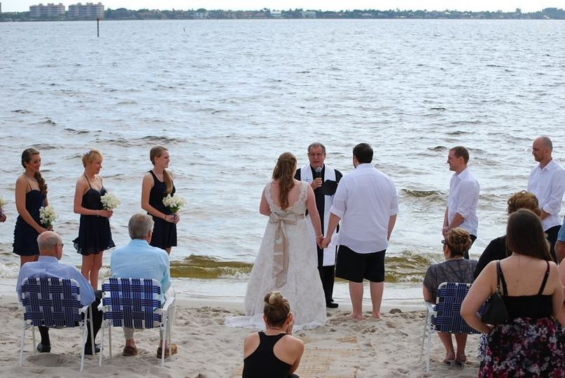 Jennifer and Andrew Cousino. Cape Coral Yatch Club. February 8, 2014