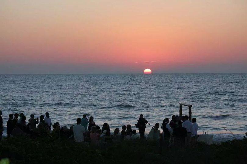 Beautiful 5:30PM Sunset in Naples Beach, Florida. Nov. 2014 Torra Spillane and Oscar Javier Puentes.