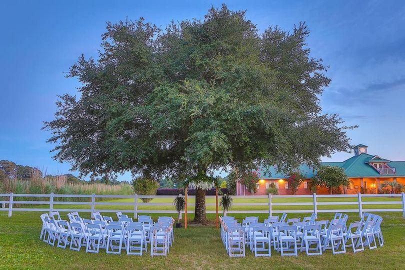 Ceremony sites on property