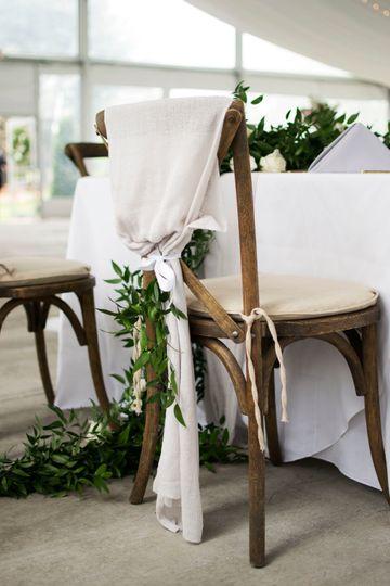 Chair greenery