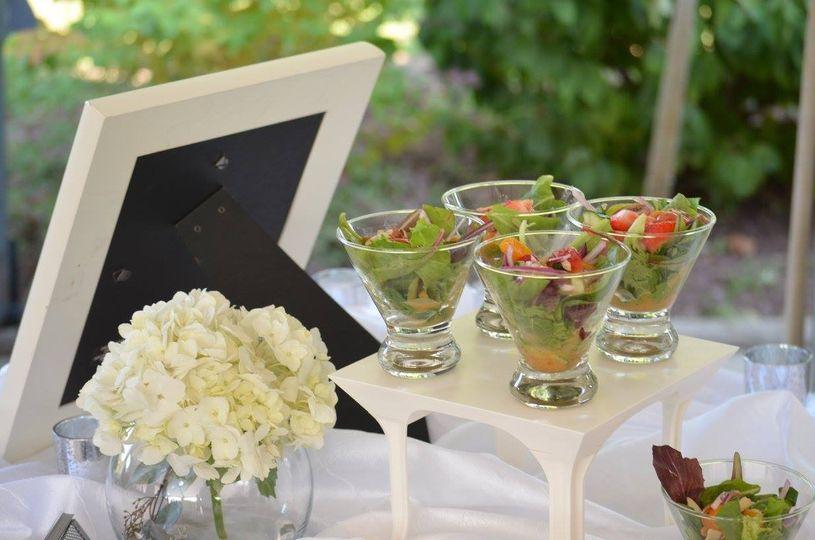 Salad glasses