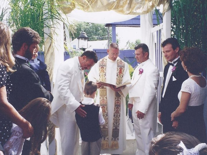 Tmx 1454464888354 Len And Nick1d Linden, NJ wedding officiant