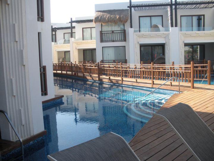 Azul Beach swim up rooms