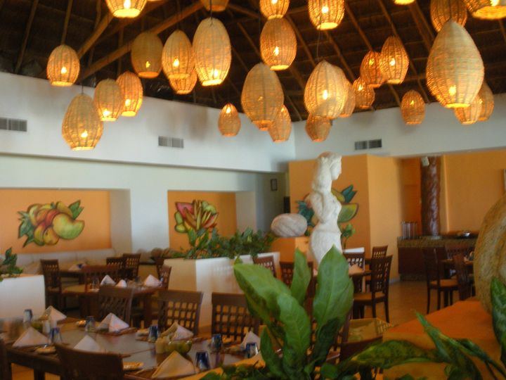 A resort restaurant