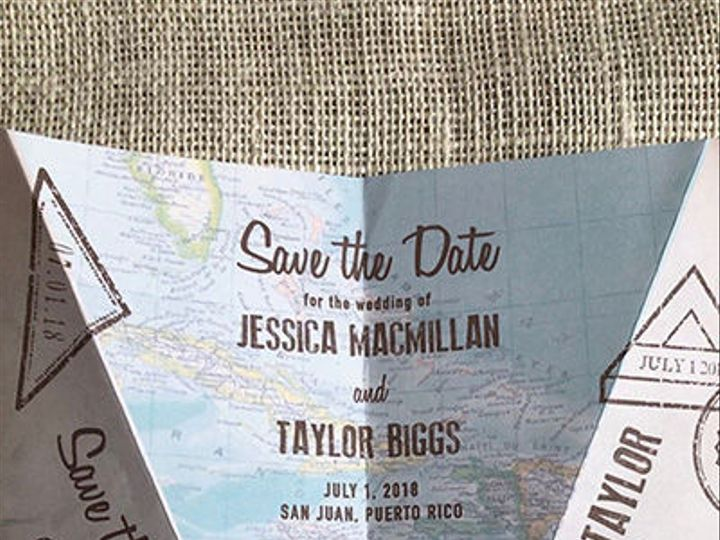 Tmx 1515708804 B0aecc21f8c11a6d 1515708802 F02ca9bed0014d8a 1515708788244 5 PaperAirplane Denver, Colorado wedding invitation