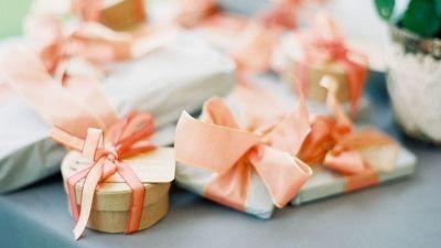 Orange ribbons