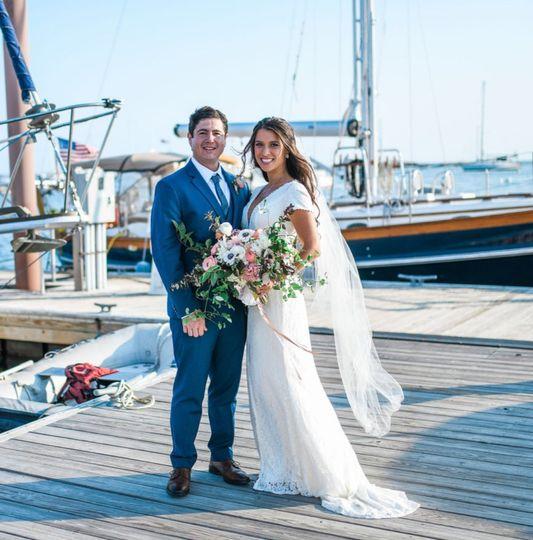 Wedding at Pepperellcove. Kitt