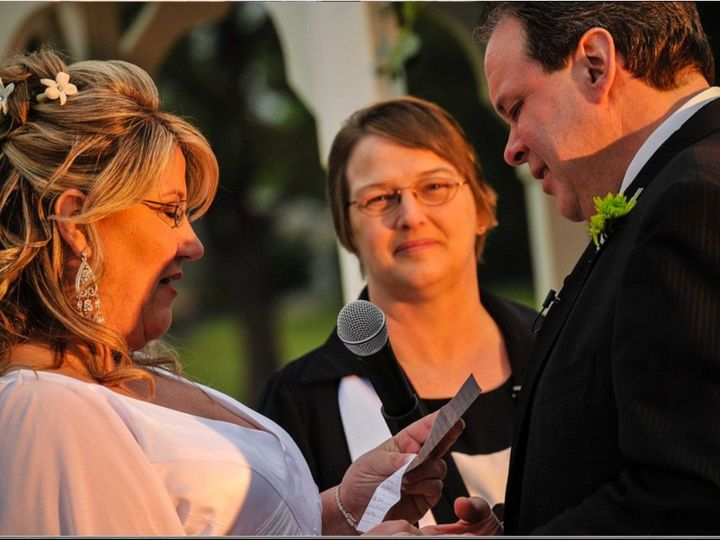 Tmx 1391689862720 Jamie And Charles  Sewell wedding officiant