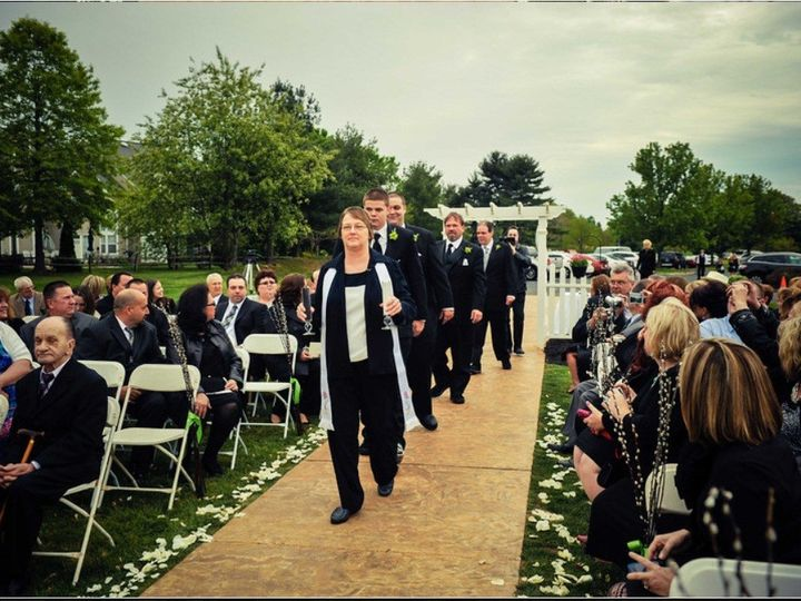 Tmx 1391689880039 Jamie And Charles 1 Sewell wedding officiant