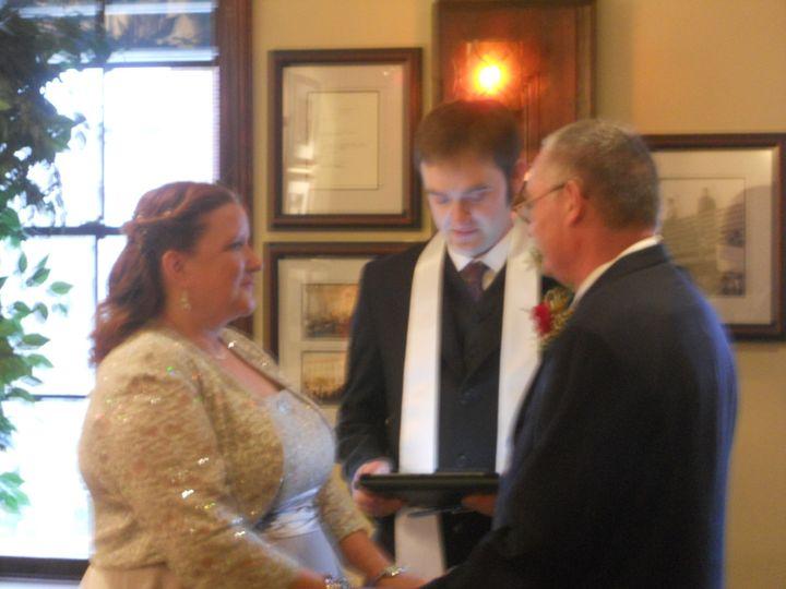 Tmx 1391831118949 Ellen And John Wedding 04 Sewell wedding officiant