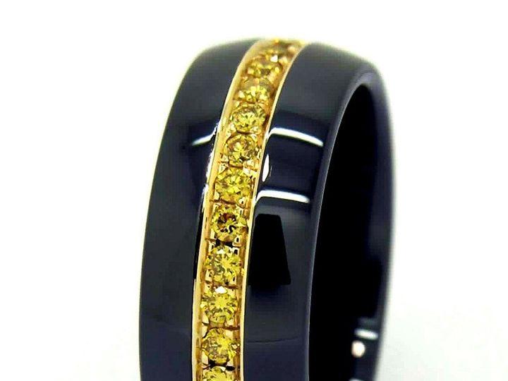 Tmx 1365164250340 Etienne 8mm Yellow Black 800 Camden wedding jewelry