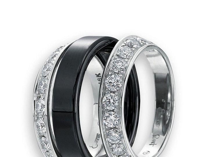 Tmx 1365164290902 Etienne Perret Ceramique  Diamond Bookends. Gvs 18kwg  Black Gem Ceramic 800 Camden wedding jewelry