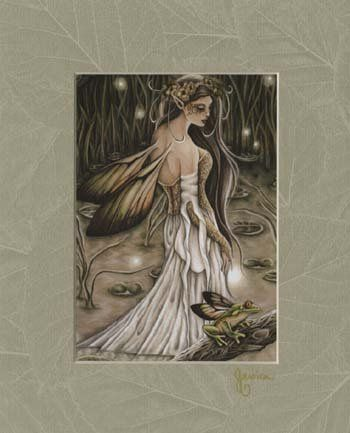 Beautiful goddess, angel, and fairy art prints. Large assortment. Matted and unmatted. Quantity...
