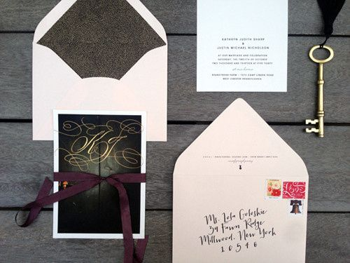 Tmx 1389389313158 Maincardenvelop Philadelphia wedding invitation