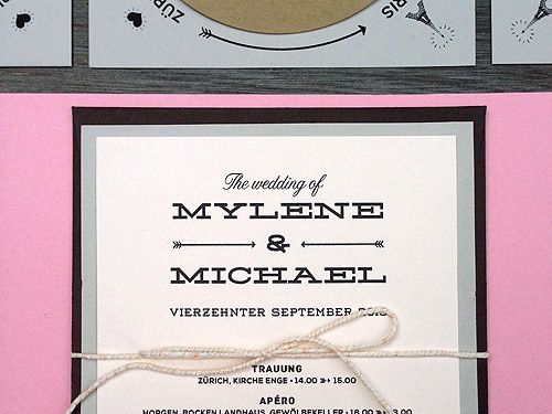 Tmx 1389653179937 Pinkcar Philadelphia wedding invitation
