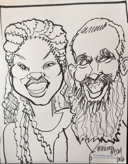 the kansas city caricature artists eileen mccoy entertainer