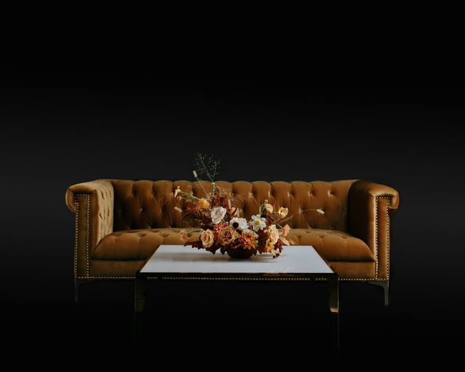 Gold Avery Couch in SBJ