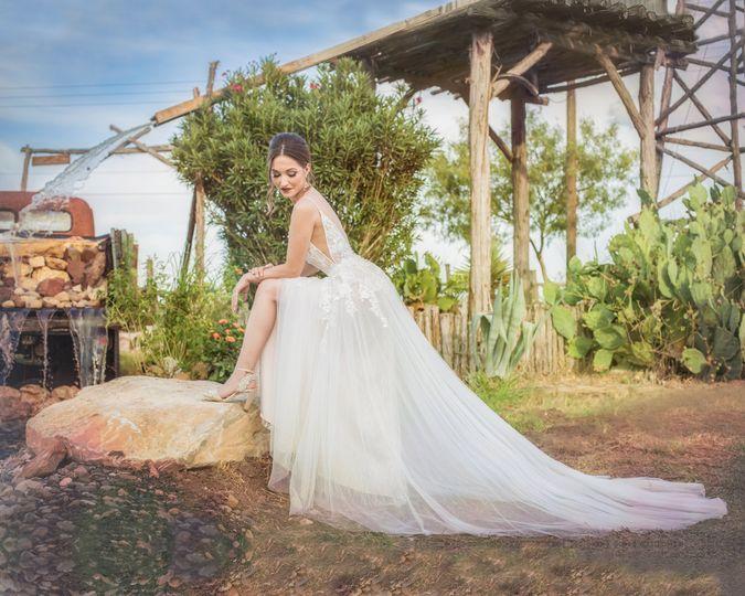 Bride Photo Moment