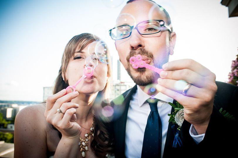 Blowing bubbles | Carol Harrold Photography