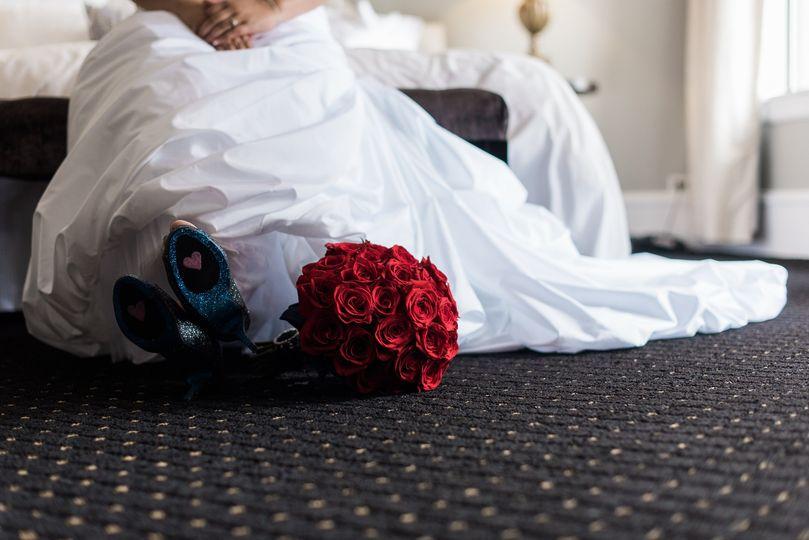 Bride Waiting in Ravello Suite
