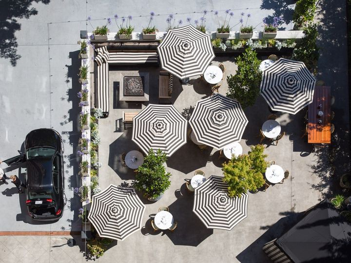 Tmx Hotel Sorrento Patio Paola Thomas Food Photography Final Print 3 51 118824 159252263451444 Seattle, WA wedding venue