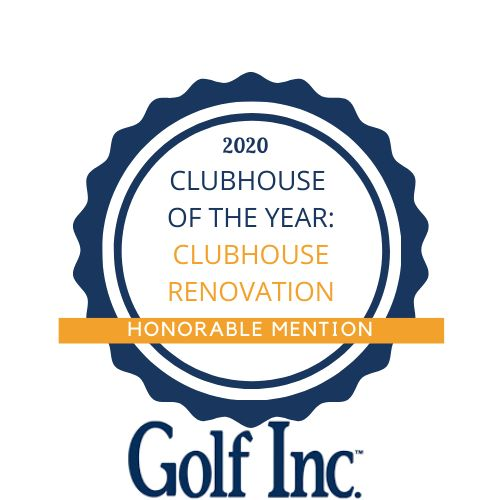 Award for Clubhouse Renovation