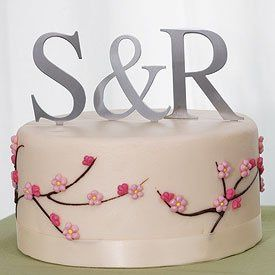 Tmx 1283304013427 6065SilverMonogramCakeTopper Newport News wedding favor