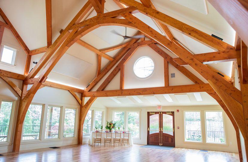 Timber Frame Hall