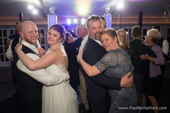 Slow dancing with the new Mr and Mrs Windle at Castle Farms, Charlevoix. Photo by Paul Retherford.
