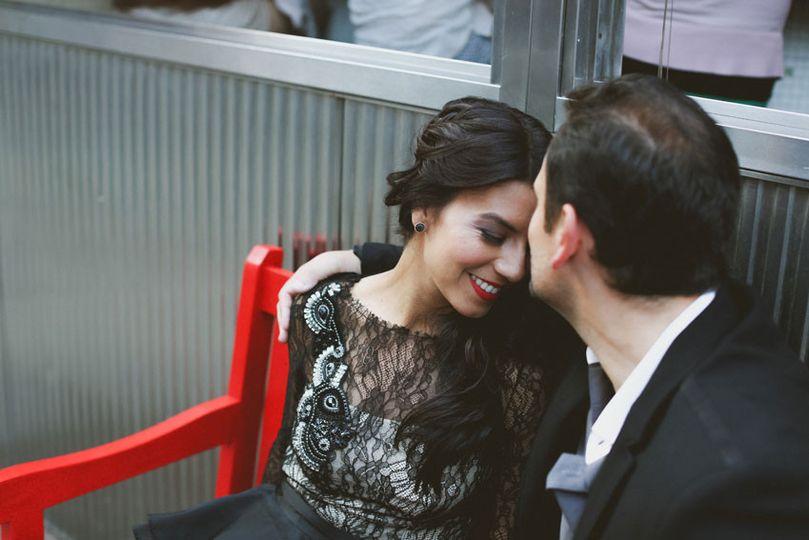 Engagement session in Soho, NY.