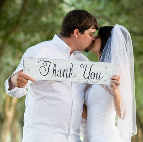 This is a beautiful sign would make a great prop for your wedding photos, or at the gift table. This...