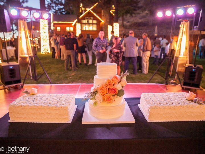 Tmx 1501970618417 883 13 Deanna Dustin Mount Hood Parkdale wedding cake