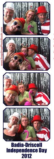 We personalize the photo strip with your message at no additional charge.