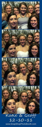 You chose your best friends as bridesmaids.   What a great way to capture the moment