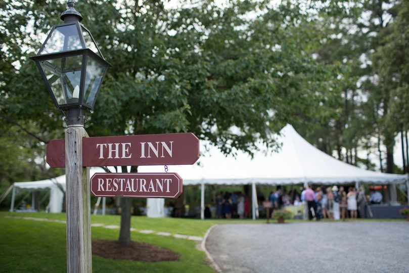 The inn sign