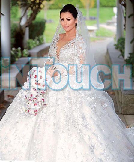 Jenni Farley Wedding Makeup
