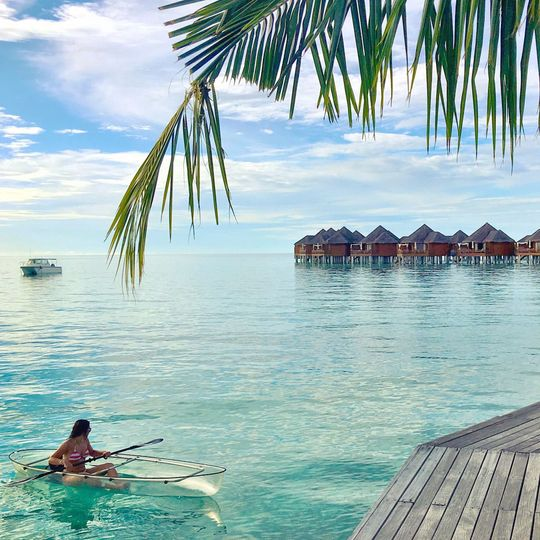 Stay in over water bungalows in the dreamy destinations of Bora Bora or Maldives!!