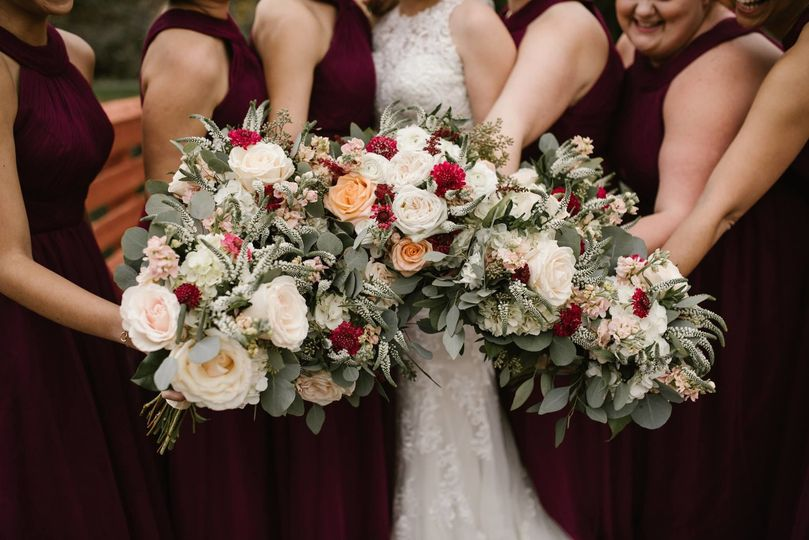 The Flower Cart Flowers Baltimore Md Weddingwire