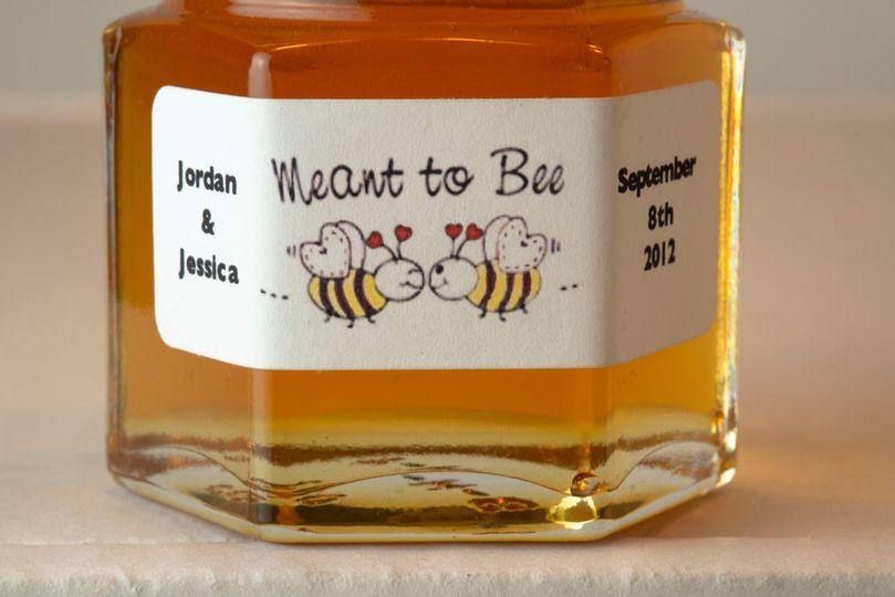 2oz. Honey Favor