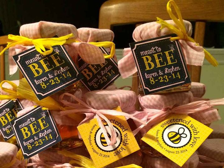 Tmx 1416453772322 Meant To Bee And Sweetened With Love Eatontown wedding favor