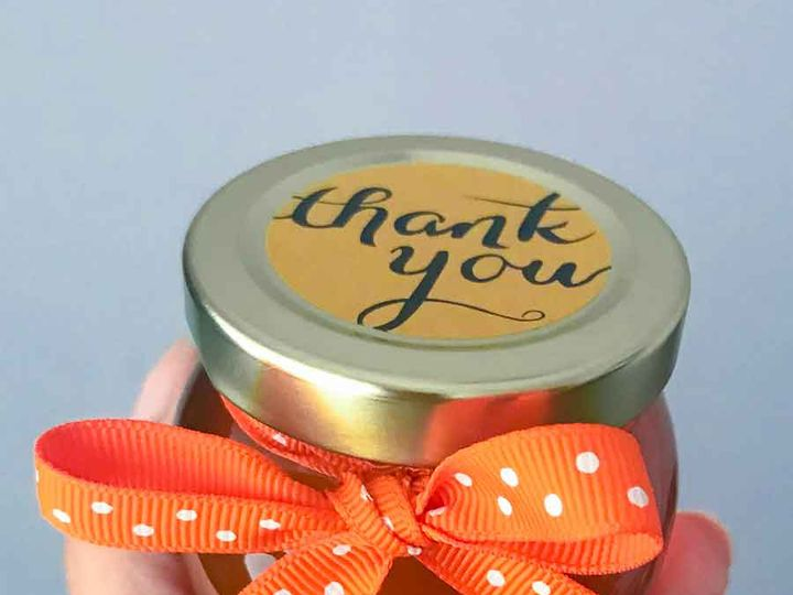 Tmx 4oz Honey Pot Favor Diy Decorated With Thank You Ribbon 51 356924 162056606152594 Tinton Falls, NJ wedding favor