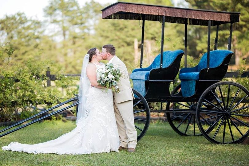 Kisses at the Carriage