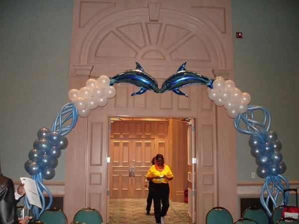 Beach Themed Entrance Arch