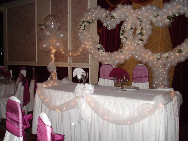 Sweetheart Table and Chair Covers