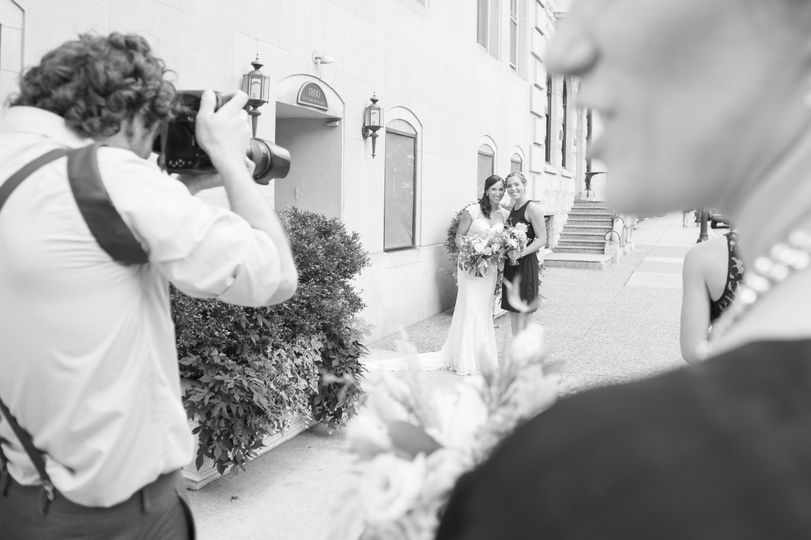 behind the scenes wedding photography philly pa
