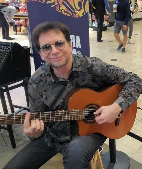 Playing at MSP Airport