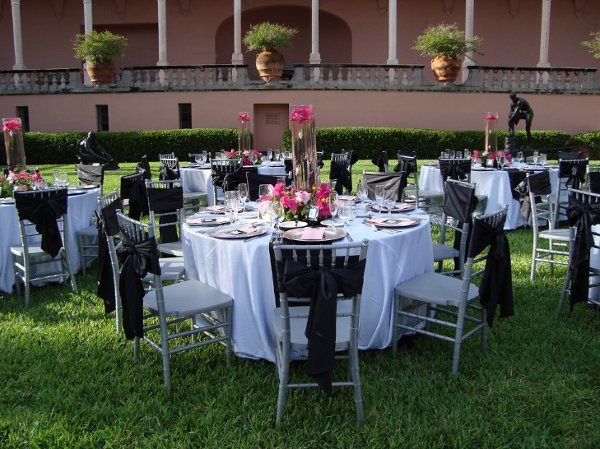Wedding at the Ringling Museum of Art Courtyard