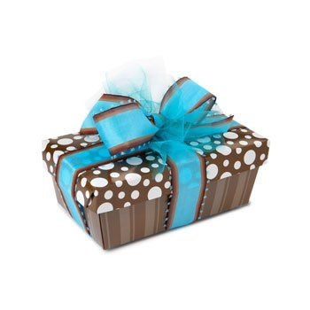 Tmx 1266617796804 BrownstripeblueLg Harvard wedding favor