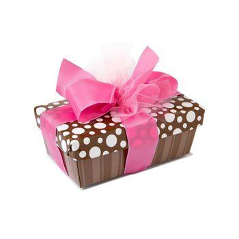 Tmx 1266617796882 BrownstripepinkLg Harvard wedding favor